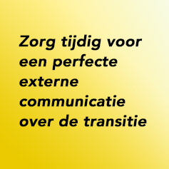 Externe communicatie – de media